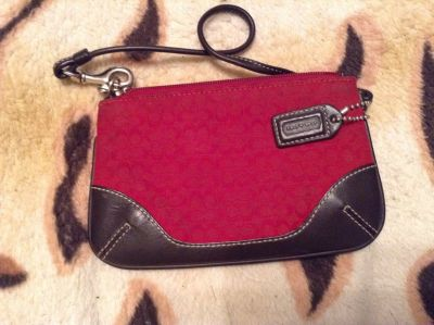 Coach small change wallet