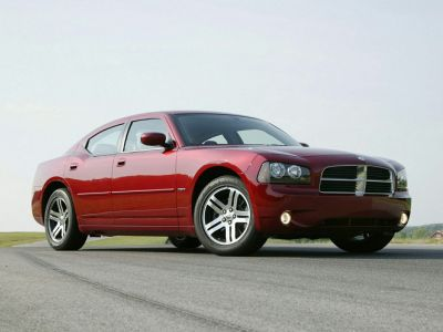 2010 Dodge Charger SXT (Red)