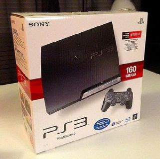 PS3 Slim 160gb with some games. Original Box, Excellent Condition.
