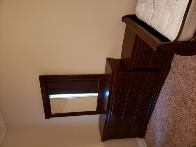 Complete twin bed set