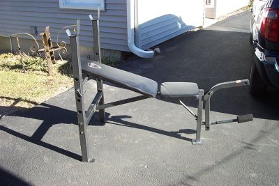 CAP STENGTH WEIGHT LIFT BENCH