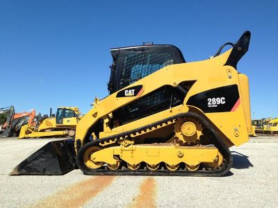 $10,000, 2009 Cat 289C Track Sskid Steer Loader Caterpillar Tracor
