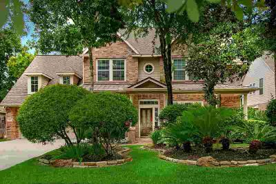 63 Degas Park Drive THE WOODLANDS Four BR, Stunning 2 story