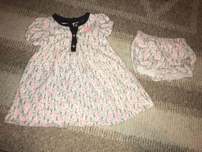 Just one you by Carter s 18 month summer dress with diaper cover