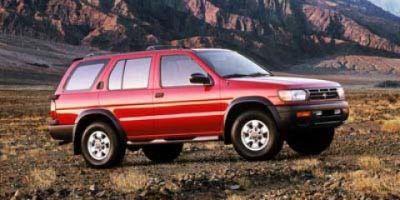 1999 Nissan Pathfinder XE (White)