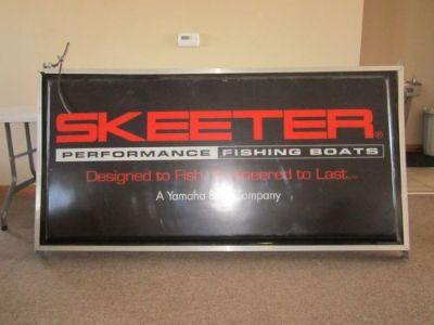 Find Skeeter Boats Dealer Sign 6' X 3' motorcycle in El Dorado, Kansas, United States, for US $200.00