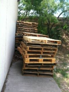 Free Pallets (Armstrong McCall)