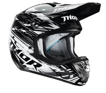 Find Thor Verge Twist Helmet Black Medium NEW 2014 motorcycle in Elkhart, Indiana, US, for US $324.95