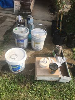 Paint,tile and sealer