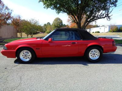 1990 Ford Mustang LX Limited (Red)