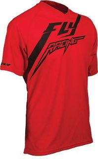 Sell Fly Racing Men's Red Short Sleeve T-Shirt w/ Odor Control & UV Protection motorcycle in Golden, Colorado, United States, for US $35.96