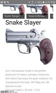 For Sale: Bond Arms Snake Slayer