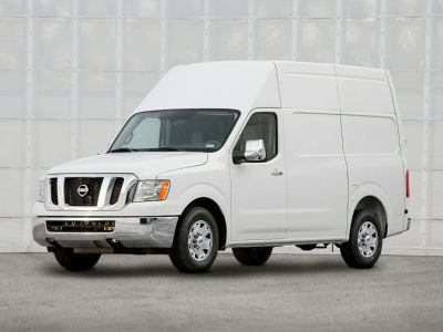 2018 Nissan NV2500 HD S (Glacier White)