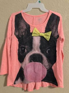 Justice Brand Dog Shirt. Nice Condition. Size 16