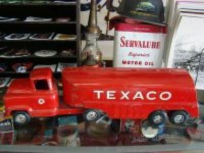 1950 s Buddy L Texaco Tanker Truck
