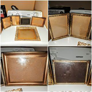 10 & 18Karat Gold Plated Picture Frames (1890)