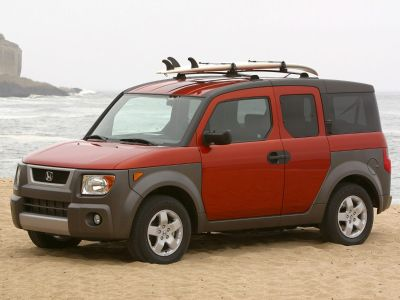 2003 Honda Element EX (Satin Silver Metallic)