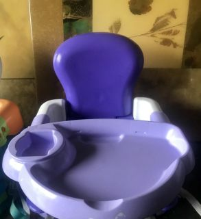 Toddler booster chair/seat