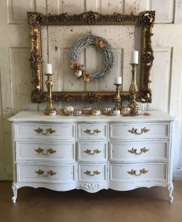 French Dresser- White