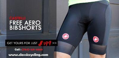 Discounted Price on Castelli Cycling Bib Shorts | Classic Cycling