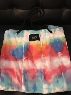 Victoria s Secret tie dye towel and tote in one NEW