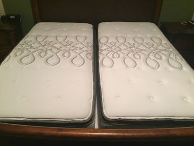 Split-King Mattress (2 Sealy Brand Twin XL Mattresses) $200.00 Each