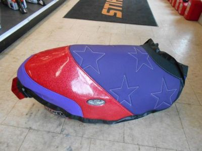 Purchase 2005-2016 Polaris IQR 600 Race Sled Seat Cover Custom Made By JETRIM Purple/Gold motorcycle in North Adams, Massachusetts, United States, for US $229.95