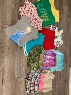 4T toddler girl EUC summer clothes