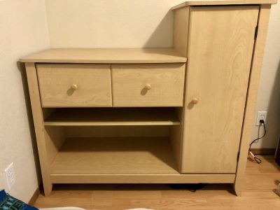 Changing Table Dresser
