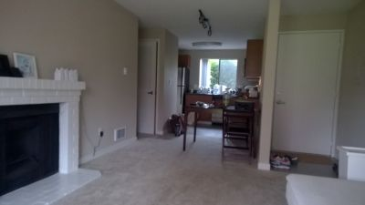 First floor apartment on corner and view on greenbelt, only $1754