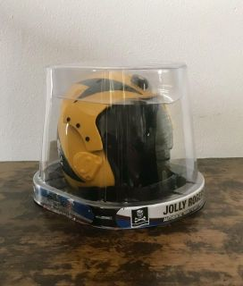 New in box. Jolly Rodgers Authentic Mini Flight Helmet. Bought in Madison at the Capital on a field trip for school.