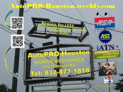 AutoPRO-Houston  9103 Emmott Rd. Houston TEXAS 77040