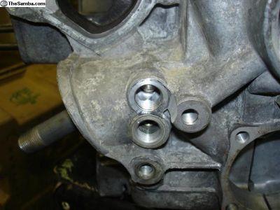 RJE #1 WBX Vanagon Engine block repair oil plugs