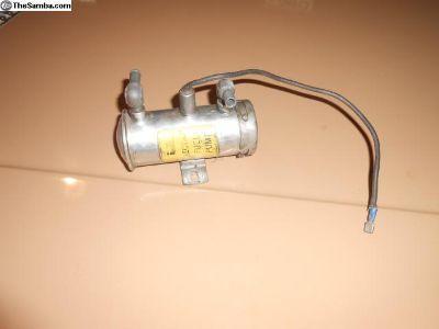 Porsche 911 Bendix Electric Fuel Pump Works Perfec