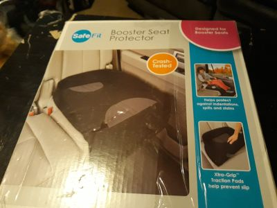 Safe fit booster seat protector
