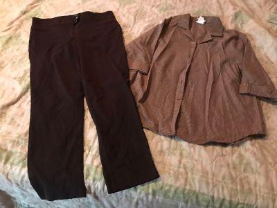 Pant suit Sz 14/large