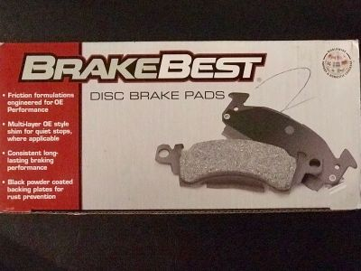 New in the box Brake Best Disc Brake Pads