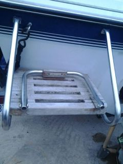 Sell 1988 Rinker V180 Swim Platform / Boarding Ladder - frame and wood motorcycle in Frankfort, Illinois, US, for US $50.00