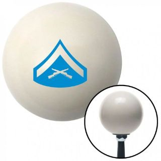 Buy Blue 02 Lance Corporal Ivory Shift Knob with 16mm x 1.5 Insert classic sbc motorcycle in Portland, Oregon, United States, for US $29.97