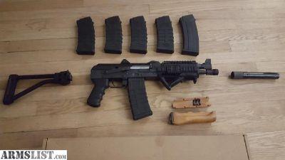 For Sale/Trade: Zastava M85PV 5.56 Pistol