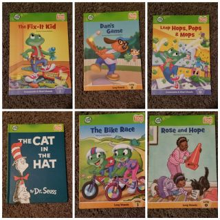 Leap frog book collection