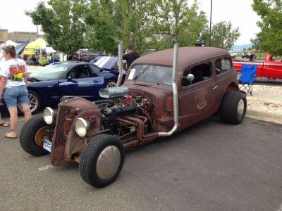 1937 Chevy Rat Rod