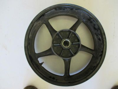 Purchase 2006-2007 YAMAHA YZF R6 V YZFR6 REAR WHEEL WHEELS RIM RIMS BENT SEE PICTURES motorcycle in Cedar Springs, Michigan, US, for US $99.00