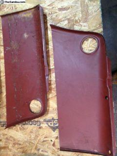 NOS Tabco repair panels for rear quarter panels