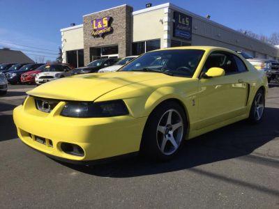 2003 Ford Mustang SVT Cobra (Zinc Yellow)
