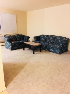 Clean Gently Used Couch and Cofee table