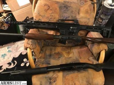 For Sale: 3 shotguns - Remington 870, Maverick 88, AR12 Panzer