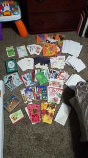 150+ assorted greeting cards