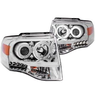 Find Anzo USA 111114 Projector Headlight Set; w/Halo Fits 07-14 Expedition * NEW * motorcycle in Pittston, Pennsylvania, United States, for US $277.80