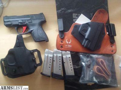 For Sale/Trade: M&P 9 Shield w/apex trigger